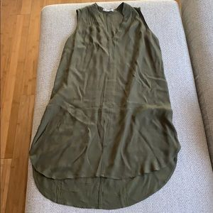 Madewell Size XS Olive colored tunic dress